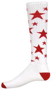 WHITE/RED STARS