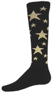 BLACK/VEGAS GOLD STARS