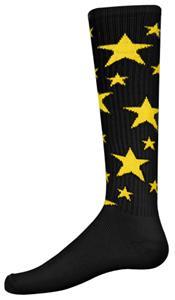 BLACK/GOLD STARS