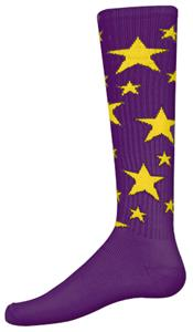 PURPLE/GOLD STARS