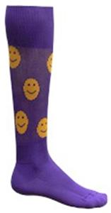 PURPLE/GOLD SMILEY