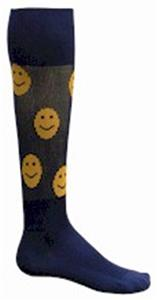 NAVY/GOLD SMILEY
