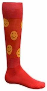 RED/GOLD SMILEY