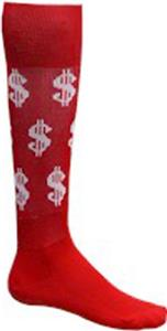RED/WHITE DOLLAR SIGNS