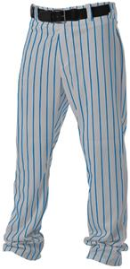 GREY/ROYAL PINSTRIPE