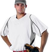 Alleson 529 2-Button eXtreme Mesh Baseball Jerseys