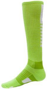 FLUORESCENT GREEN/WHITE