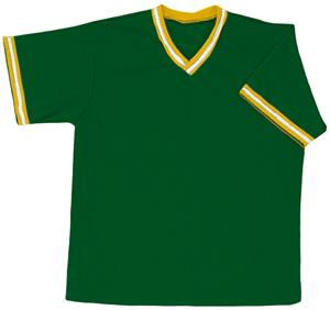 20 - DARK GREEN/GOLD/WHITE