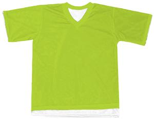Outside: 44 - NEON GREEN, Inside: WHITE