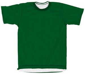 Outside: 18 - DARK GREEN, Inside: WHITE