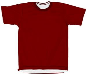 Outside: 26 - MAROON, Inside: WHITE