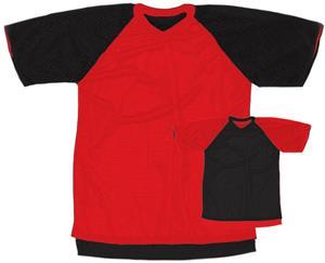 Outside: 16 - RED/BLACK, Inside: BLACK/RED