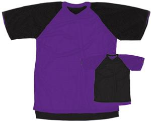 Outside: 12 - PURPLE/BLACK, Inside: BLACK/PURPLE
