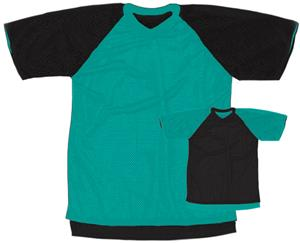 Outside: 14 - TEAL/BLACK, Inside: BLACK/TEAL