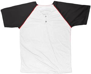 12 - WHITE/BLACK/RED