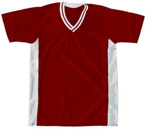 30 - WHITE/MAROON/WHITE