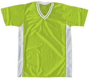 44 - WHITE/NEON GREEN/WHITE