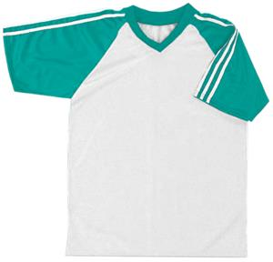 38 - WHITE/TEAL/WHITE