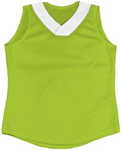 44 - NEON GREEN/WHITE
