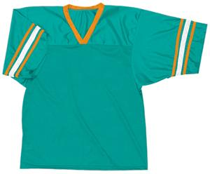 36 - TEAL/ORANGE/WHITE