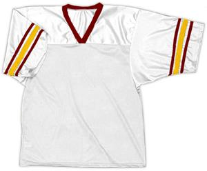 30 - WHITE/MAROON/GOLD