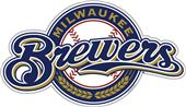"MLB Milwaukee Brewers 12"" Die Cut Car Magnets"
