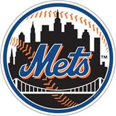 "MLB New York Mets 12"" Die Cut Car Magnets"