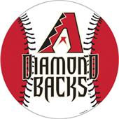 "MLB Arizona Diamondbacks 12"" Die Cut Car Magnets"