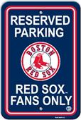 MLB Boston Red Sox Plastic Parking Sign