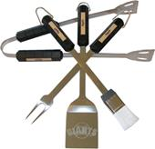 MLB San Francisco Giants 4 Piece BBQ Grilling Set