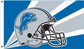 NFL Detroit Lions 3' x 5' Flag w/Grommets