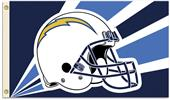 NFL San Diego Chargers 3' x 5' Flag w/Grommets