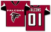 NFL Atlanta Falcons 2-Sided Jersey Banner