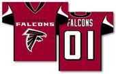 NFL Atlanta Falcons 2-Sided Jersey Banner