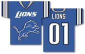 NFL Detroit Lions 2-Sided Jersey Banner
