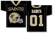NFL New Orleans Saints 2-Sided Jersey Banner