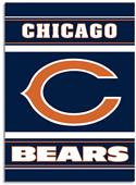 "NFL Chicago Bears 28"" x 40"" House Banner"
