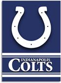 "NFL Indianapolis Colts 28"" x 40"" House Banner"