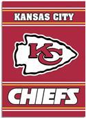 """NFL Kansas City Chiefs 28"""" x 40"""" House Banner"""