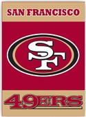 "NFL San Francisco 49ers 28"" x 40"" House Banner"