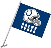 "NFL Indianapolis Colts 2-Sided 11"" x 14"" Car Flag"
