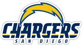 NFL San Diego Chargers Auto Diecut Window Film