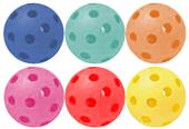 Champion Sports Plastic Baseballs (Package of 6)