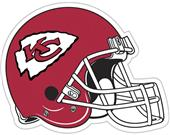 "NFL Kansas City Chiefs 12"" Die Cut Car Magnet"