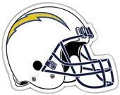 "NFL San Diego Chargers 12"" Die Cut Car Magnet"