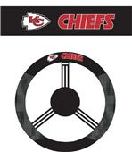NFL Kansas City Chiefs Steering Wheel Cover