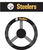 NFL Pittsburgh Steelers Steering Wheel Cover