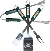 NFL Green Bay Packers 4 Piece BBQ Grilling Set