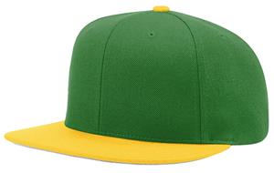 (COMBO) DARK GREEN CROWN / GREY VISOR