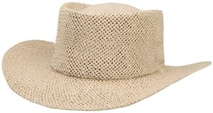 NATURAL TOYO HAT/WHITE BAND